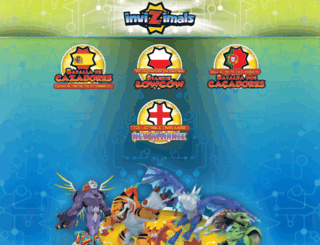 invizimals-tcg.com screenshot