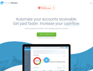 invoicesherpa.com screenshot