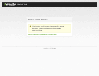 invoicing.envato.com screenshot