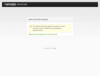 invoicing.envato.com screenshot