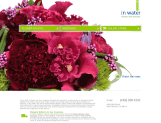 inwaterflowers.com screenshot