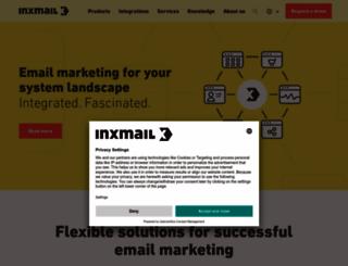 inxmail.com screenshot