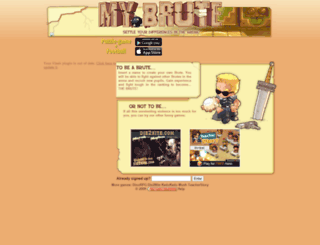 ioan.mybrute.com screenshot