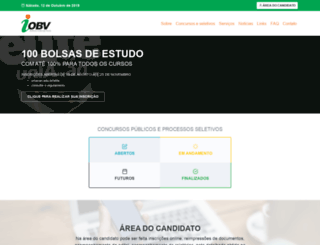 iobv.org.br screenshot
