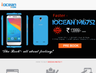 ioceanindia.com screenshot