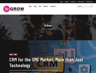 iogrow.com screenshot