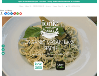 ionie.com screenshot