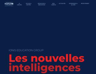 ionis-group.com screenshot