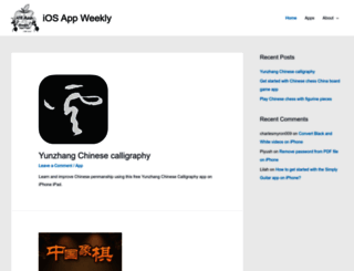 iosappweekly.com screenshot