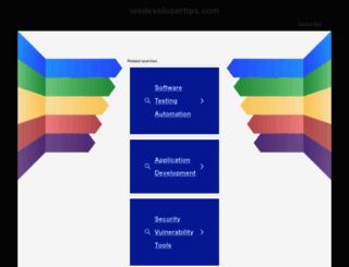 iosdevelopertips.com screenshot