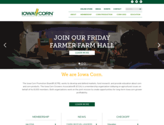 iowacorn.org screenshot
