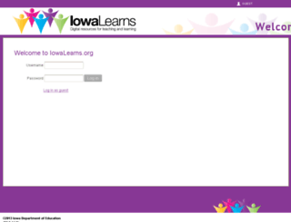 iowalearns.org screenshot