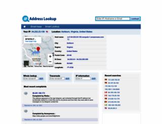 ip-address-lookup-v4.com screenshot