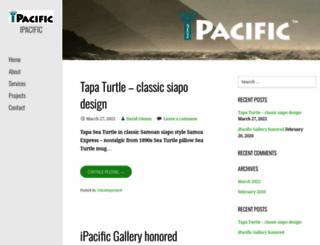 ipacific.com screenshot