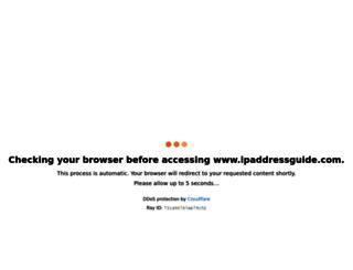 ipaddressguide.com screenshot