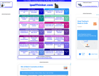 ipadthinker.com screenshot
