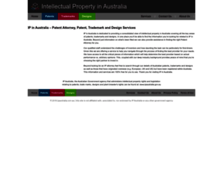 ipaustralia.com.au screenshot