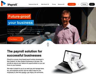 ipayroll.co.nz screenshot
