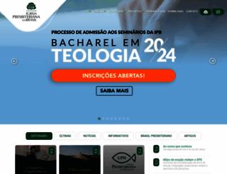 ipb.org.br screenshot