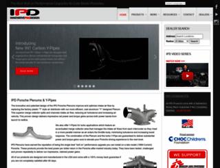 ipdplenums.com screenshot