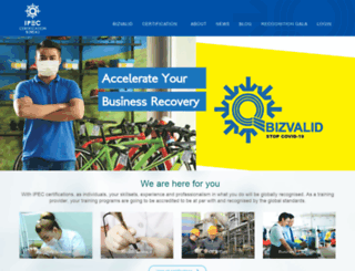 ipecbureau.org screenshot