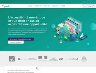 ipedis.com screenshot