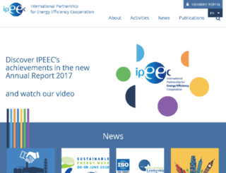 ipeec.org screenshot