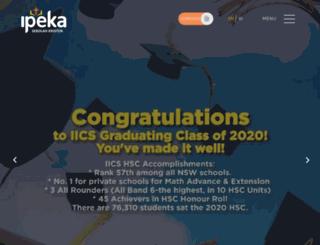 ipeka.org screenshot