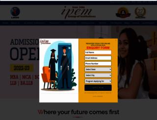 ipemgzb.ac.in screenshot