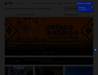iphan.gov.br screenshot