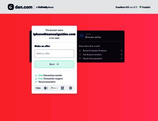 iphone6manualguides.com screenshot