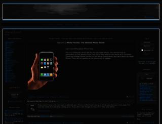 iphoneforumz.com screenshot