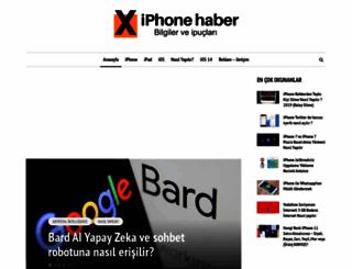 iphonehaber.net screenshot