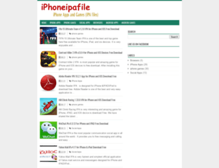 iphoneipafile.blogspot.com screenshot
