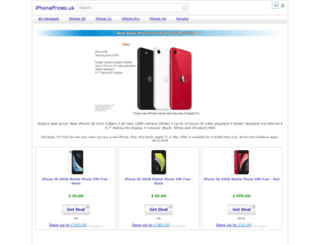 iphoneprices.co.uk screenshot