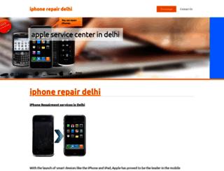 iphonerepairdelhi.webnode.in screenshot