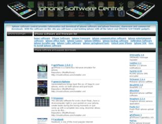 iphonesoftwarecentral.net screenshot