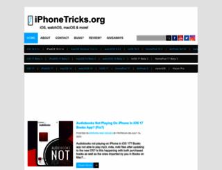 iphonetricks.org screenshot