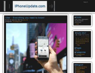 iphoneupdate.com screenshot