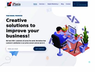 ipistis.com screenshot