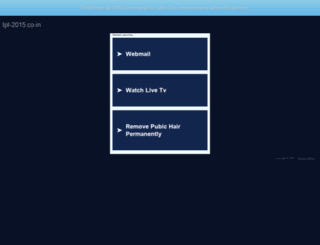 ipl-2015.co.in screenshot