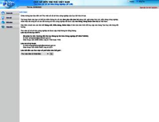 iplib.noip.gov.vn screenshot