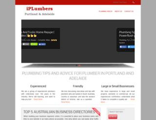 iplumberportland.com screenshot
