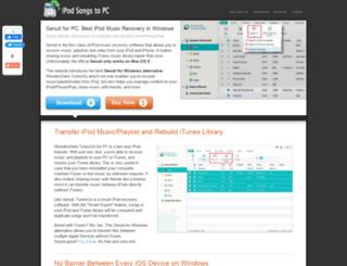ipod-copy-transfer.com screenshot