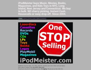ipodmeister.com screenshot
