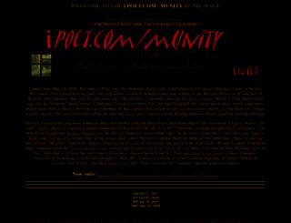ipoet.com screenshot