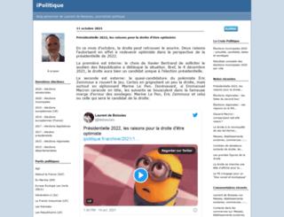 ipolitique.fr screenshot