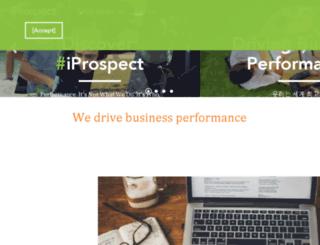 iprospect.co.kr screenshot