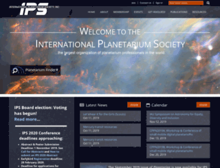 ips-planetarium.org screenshot