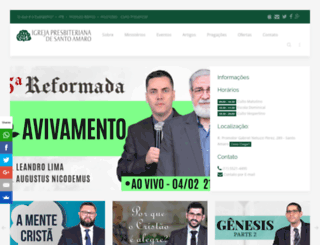ipsantoamaro.com.br screenshot